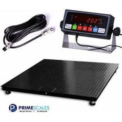Prime Scales 10000lb/1lb 48×48 Floor Scale w/Indicator