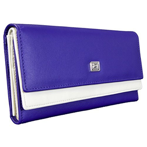 ID Stronghold High Capacity Leather Womens Wallet – Gorgeous Soft Leather