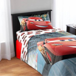 Disney Cars Full Comforter and Sheet Set