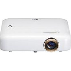 LG PH550 Minibeam LED Projector with Built-in Battery, Bluetooth Sound Out and Screen Share