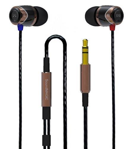 SoundMAGIC E10 Noise Isolating In-Ear Earphones (Gold)
