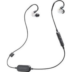 Shure SE 215 Bluetooth Sound Isolating Earphones Clear