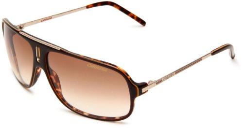 Carrera Cool/S Navigator Sunglasses,Brown Havana & Gold Frame/Brown Gradient Lens,One Size