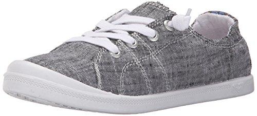 Roxy Women's Rory Slip On Sneaker Shoe, Black, 7