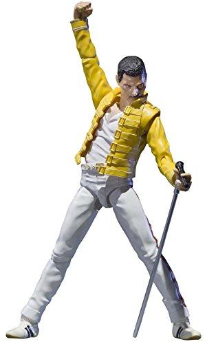 "Bandai Tamashii Nations Freddie Mercury ""Singing Artist"" Action Figure"