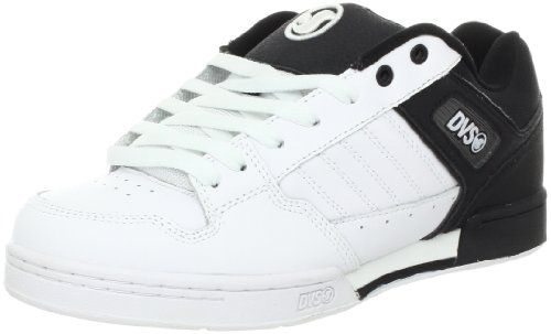 DVS Men's Durham X Dirt Series, Black/White Action Leather, 8 M US