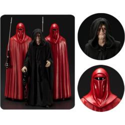 Star Wars Emperor Palpatine Royal Guards ArtFX+ Statue 3-Pk