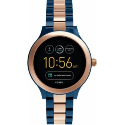 Fossil Gen 3 Smartwatch – Venture Rose Two-Tone Stainless Steel Jewelry – FTW6002