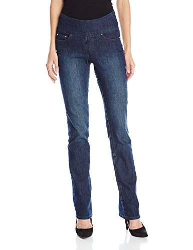 Jag Jeans Women's Paley Boot Pull on Jean, Blue Shadow, 12