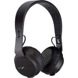The House of Marley – Rebel BT Wireless On-Ear Headphones – Black