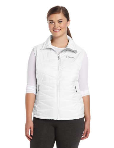 Columbia Women's Mighty Lite III Vest, White, 1X