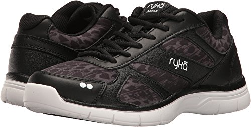Ryka Women's Dream SMT Black/Iron Grey/White 7.5 D US