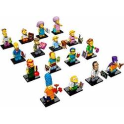 LEGO Simpsons Series 2 Complete set of 16 Minifigures (71009)