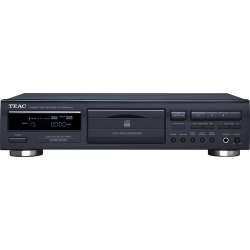 TEAC – CD Recorder with Advanced Auto-Record Functions – Black