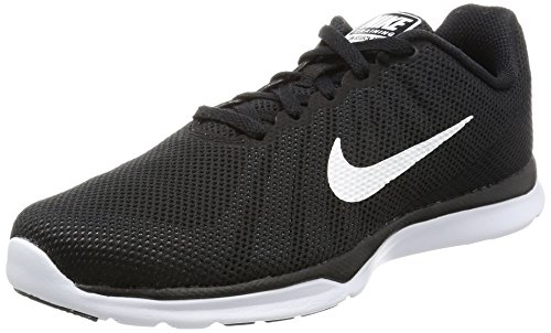 Nike Women's In-Season TR 6 Cross Training Shoe, Black/White/Stealth/Cool Grey, 7.5 B(M) US