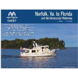 ChartKit Region 6: Norfolk VA to Jacksonville, FL including ICW, 12th Edition