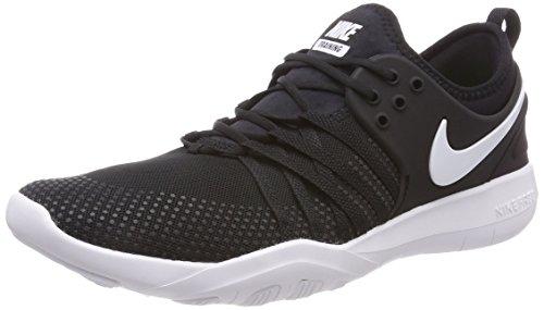 NIKE Free Tr 7 Womens Cross Training Shoes (6.5, Black/White)