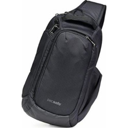 PacSafe Camsafe X9 Anti-Theft Camera Sling Pack-Black Backpack, One Size