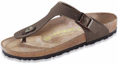 Birkenstock Women's Gizeh Mocha Birkibuc Sandals 36 R (US Women's 5-5.5)
