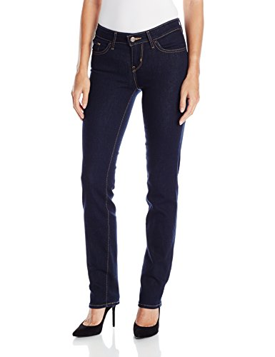 Levi's Women's 714 Straight Jeans, Cast Shadows (73% Cotton, 19% Polyester, 7% Modal, 1% Elastane), 34W X 32L