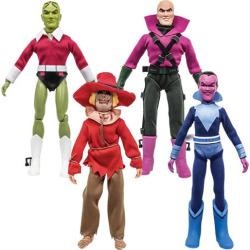 Super Friends Series 6 Retro 8-Inch Action Figure Set