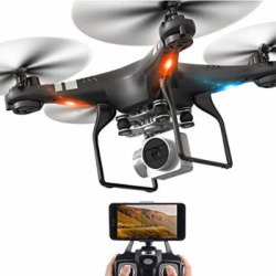 FPV Drone for Beginners with 1080P HD WI-FI Camera RC Quadcopter with Altitude Hold, One Key Return, Headless Mode, 3D Flips and APP Control