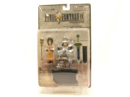 Final Fantasy IX – Princess Garnet & Captain Adelbert Steiner (Japanese Release) by Bandai