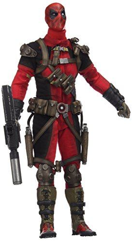 Sideshow Collectibles SS100178 Marvel Heroes Deadpool Playset, Red