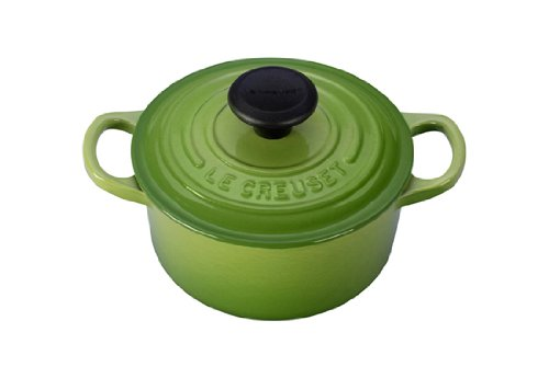 Le Creuset Signature Enameled Cast-Iron 1-Quart Round French (Dutch) Oven, Palm