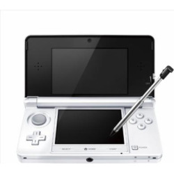 Nintendo 3DS Console – Ice White (Japanese Imported Version – only plays Japanese version games)