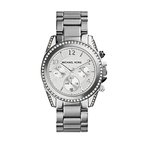 Michael Kors Women's Blair Silver-Tone Watch MK5165