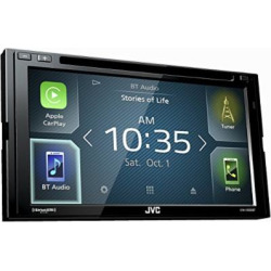 jvc kw v830bt double din bluetooth in dash dvdcdamfm car stereo receiver - Allshopathome-Best Price Comparison Website,Compare Prices & Save
