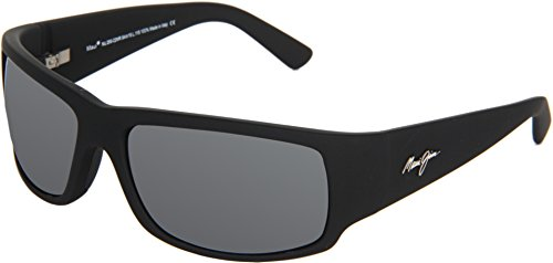 Maui Jim World Cup 266-02MR | Sunglasses, Neutral Grey Lenses, with Patented PolarizedPlus2 Lens Technology