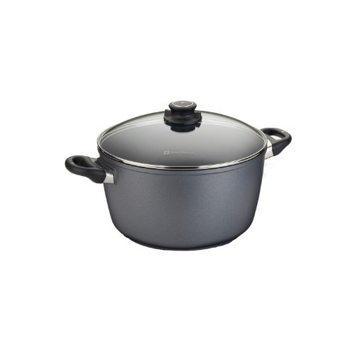 Swiss Diamond Nonstick Stock Pot – 8.5 qt (11″)