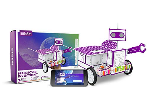littleBits Space Rover Inventor Kit-Build and Control a Space Rover tech Toy with Hours of NASA-Inspired Missions!