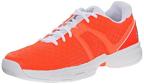 adidas Performance Women's Sonic Allegra Training Footwear, Solar Red/Silver/White, 7.5 M US