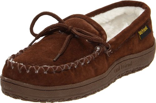 Old Friend Women's Kentucky Moccasin, Chocolate Brown, 9 M US