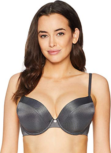 Le Mystere Women's Safari T-Shirt Bra, Metallic Graphite