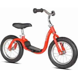 KaZAM v2s No Pedal Balance Bike, 12-Inch, Metallic Red
