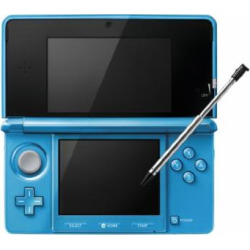 Nintendo 3DS Console-light blue (Japanese Imported Version – only plays Japanese version games)