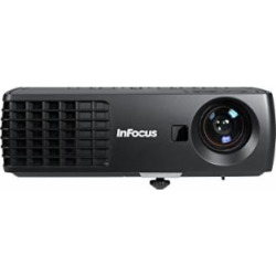 InFocus IN1110a XGA Mobile Projector, 2100 Lumens, HDMI, 2GB Memory, Wireless-ready