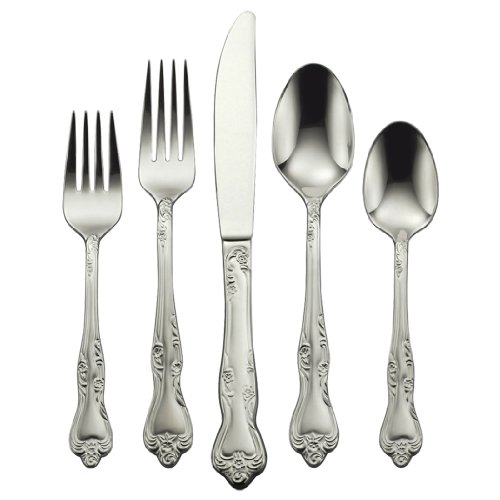 oneida azalea 65 piece flatware sets service for 12 - Allshopathome-Best Price Comparison Website,Compare Prices & Save