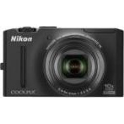 Refurbished Nikon Coolpix S8100 12.1 MP CMOS Digital Camera with 10x Optical Zoom-Nikkor ED Lens and 3.0-Inch LCD (Black)
