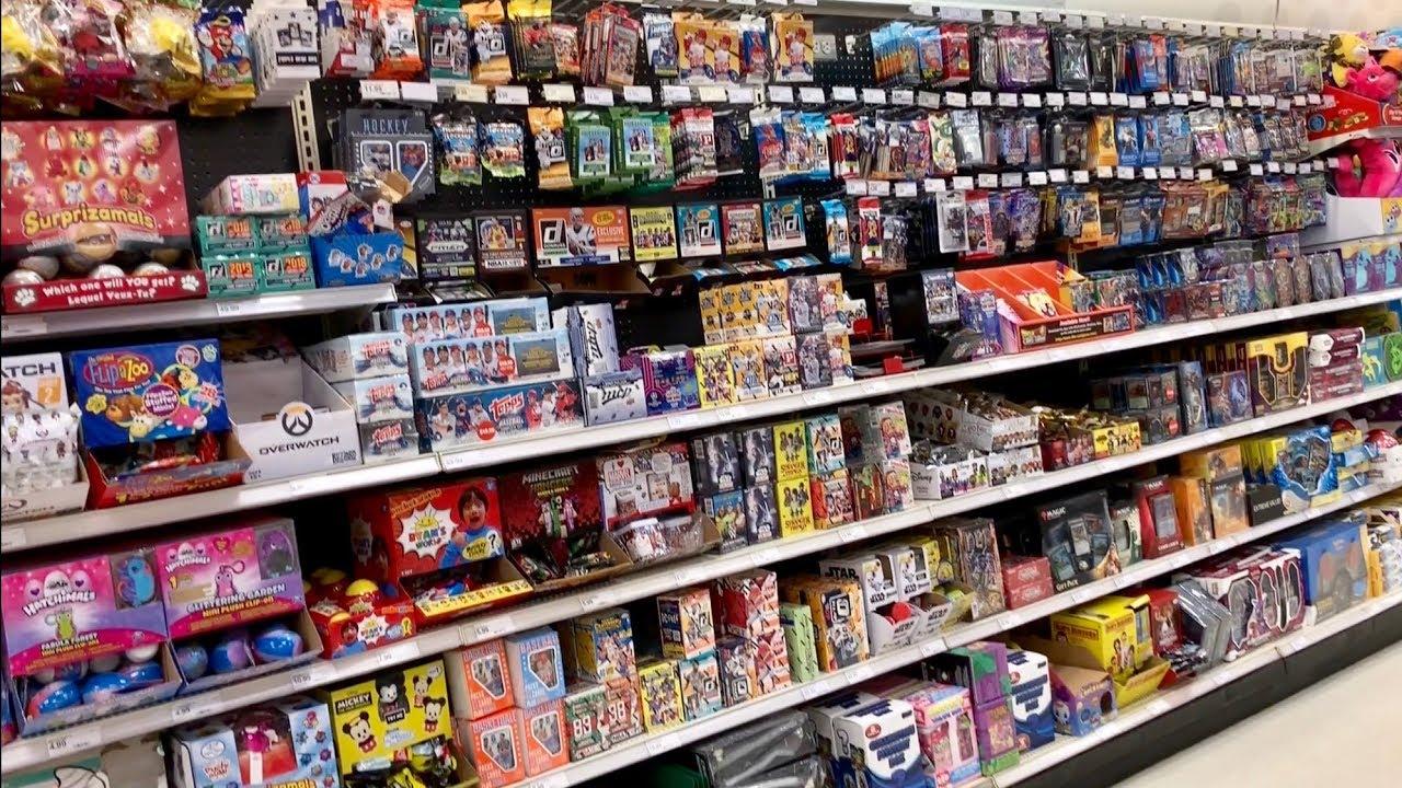 Target Vs Walmart Retail Baseball Card Shopping Allstar Baseball News