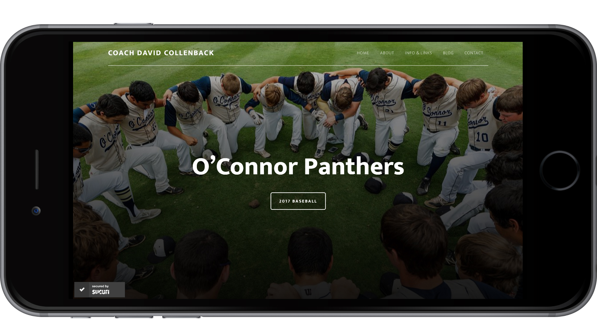 High School Coach Website Design