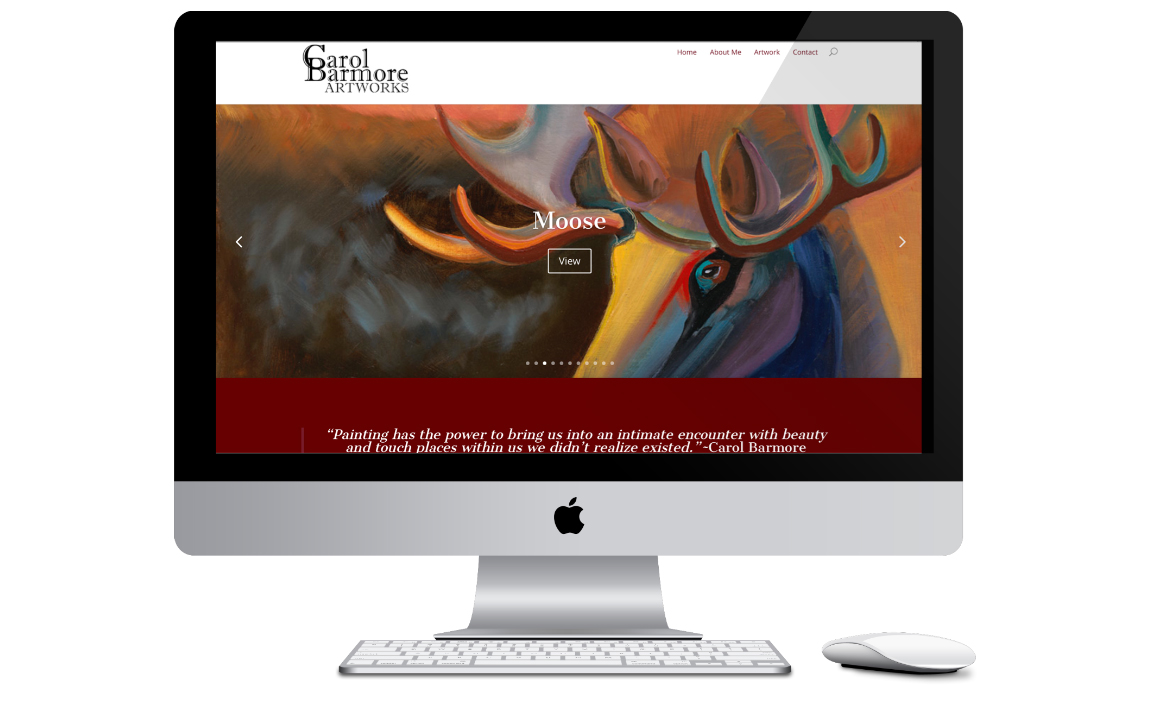 Montana Artwork Website Design