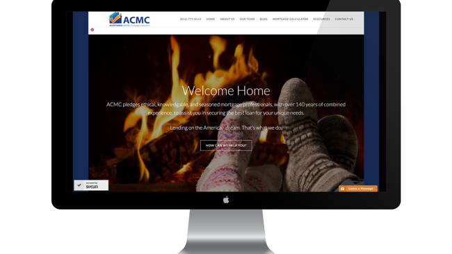 Mortgage Bank Website Design