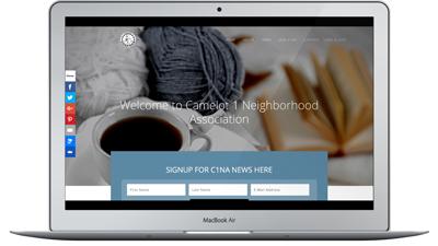 Website Design for Neighborhood Associations