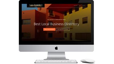 San Antonio, TX Local Business Directory Website