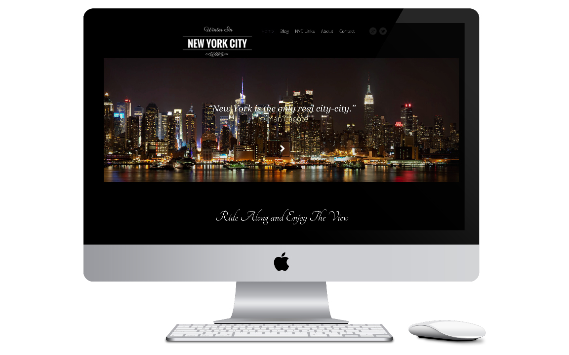 City Website | Winter in New York City